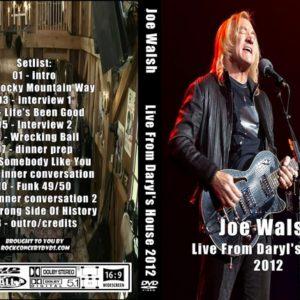 Joe Walsh 2012-11-15 Live From Daryl's House, Amenia, NY DVD