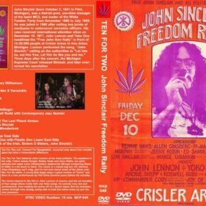 John Lennon 1971-12-10 Ten For Two John Sinclair Freedom Rally DVD