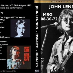 John Lennon 1972-08-30 Madison Square Garden, New York, NY DVD