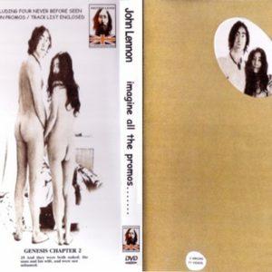 John Lennon Imagine All The Promos 3 DVD