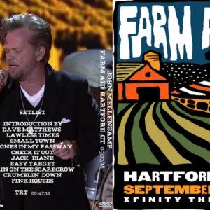 John Mellencamp 2018-09-22 Farm Aid 33, Hartford, CT DVD