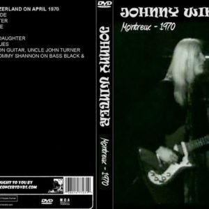 Johnny Winter 1970 Montreux, Switzerland DVD