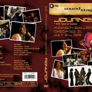 Journey 1978-07-09 PBS Soundstage, Chicago, IL DVD