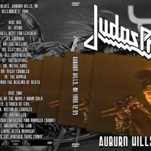 Judas Priest 1990-12-05 The Palace, Auburn Hills, Detroit, MI 2 DVD
