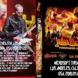 Judas Priest 2018-04-22 Microsoft Theater, Los Angeles, CA DVD