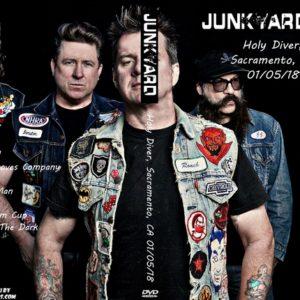 Junkyard 2018-01-05 Holy Diver, Sacramento, CA DVD