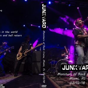 Junkyard 2018-02-12 Monsters of Rock Cruise, Miami, FL DVD