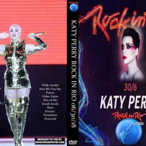 Katy Perry 2018-06-30 Rock In Rio, Lisboa, Portugal DVD