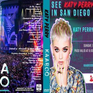 Katy Perry 2018-09-16 KAABOO, Del Mar, CA DVD