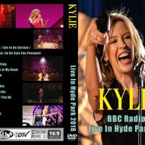 Kylie Minogue 2018 BBC Radio 2 Live In Hyde Park DVD