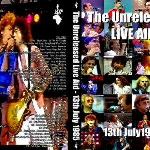 Live Aid 1985-07-13 Unreleased 4 DVD