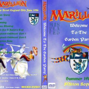 Marillion 1986-06-28 Milton Keynes Bowl, UK DVD