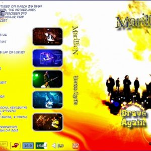 Marillion 1994-03-29 Brave Again, Amsterdam, Holland 2 DVD