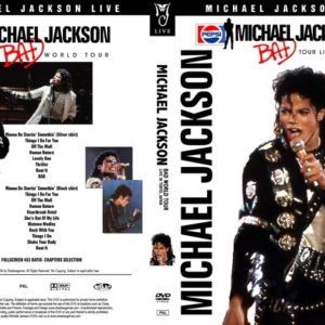 Michael Jackson 1987 Bad World Tour 2 Shows in Tokyo, Japan DVD