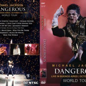 Michael Jackson 1993-10-12 Dangerous World Tour, Buenos Aires, Argentina DVD