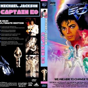 Michael Jackson Captain EO 2 DVD