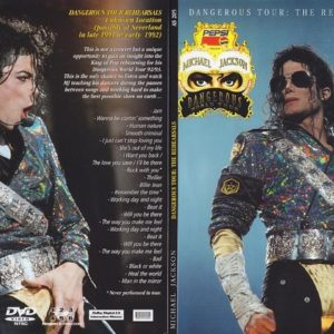 Michael Jackson Dangerous Tour The Rehearsals DVD