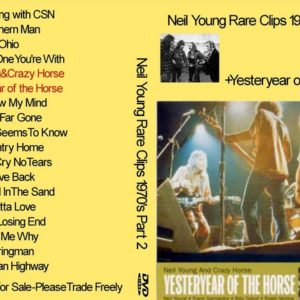 Neil Young 1970 Rare Clips Part 2 DVD