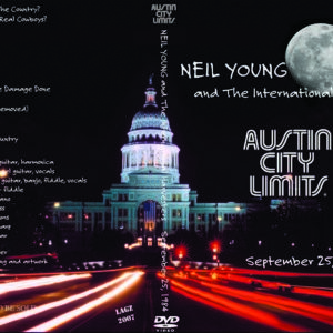 Neil Young 1984-09-25 Austin City Limits, TX DVD