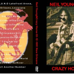 Neil Young 1991-03-12 New Orleans, LA DVD
