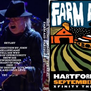 Neil Young + Promise of the Real 2018-09-22 Farm Aid 33, Hartford, CT DVD
