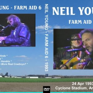 Neil Young with Willie Nelson 1993-04-23 Farm Aid 6, Ames, IA DVD