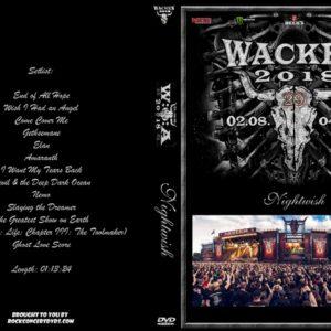 Nightwish 2018-08-03 Wacken, Germany DVD