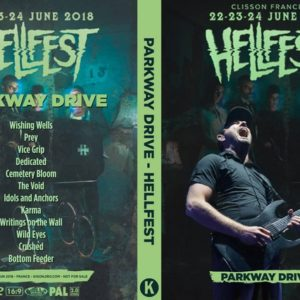 Parkway Drive 2018-06-23 Hellfest, Clisson, France DVD