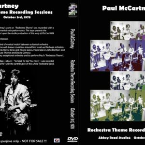 Paul McCartney 1978-10-03 Rockestra Recording Sessions DVD