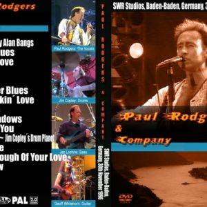 Paul Rodgers 1996-11-30 Baden-Baden, Germany DVD