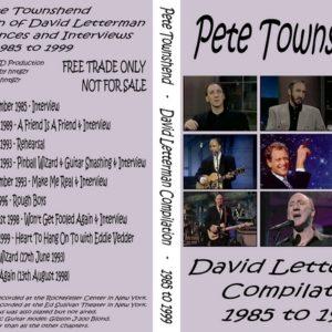 Pete Townshend 1985-1999 David Letterman Compilation DVD
