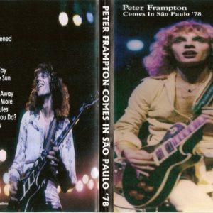 Peter Frampton 1978 Comes in Sao Paulo, Brazil DVD