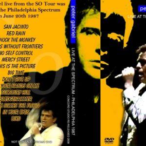 Peter Gabriel 1987-07-20 Philadelphia, PA DVD