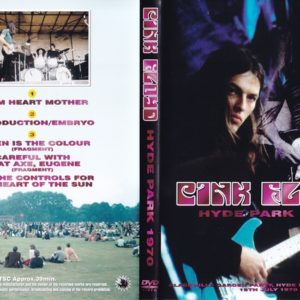 Pink Floyd 1970-07-18 Hyde Park, London, UK DVD