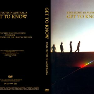 Pink Floyd 1971-08-15 Get To Know In Australia DVD