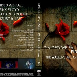 Pink Floyd 1980-08-09 Divided We Fall, Earls Court, London, UK 2 DVD