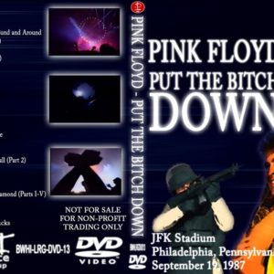 Pink Floyd 1987-09-19 Put The Bitch Down, JFK Stadium, Philly, PA 2 DVD