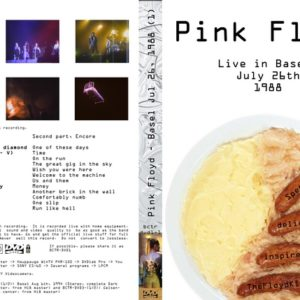 Pink Floyd 1988-07-26 Basel, Switzerland DVD