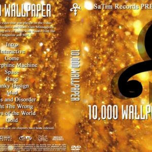 Prince 10000 Wallpaper DVD