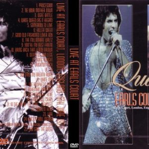 Queen 1977-06-06 Earls Court, London, UK DVD