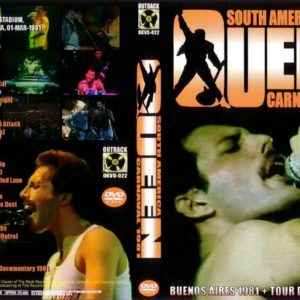 Queen 1981-03-01 Buenos Aires, Argentina DVD
