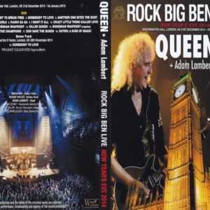Queen 2014-12-31 Rock Big Ben Live, London, UK DVD