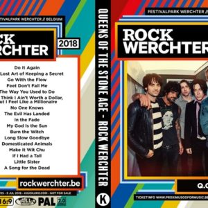 Queens Of The Stone Age 2018-07-05 Rock Werchter, Belgium DVD
