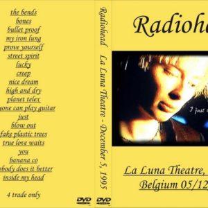Radiohead 1995-12-05 Bruxelles, Belgium DVD