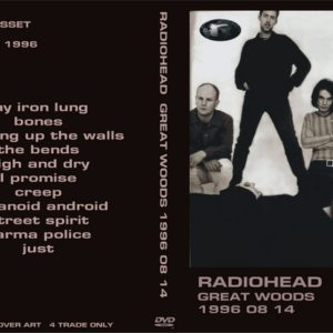 Radiohead 1996-08-14 Great Woods Center, Mansfield DVD