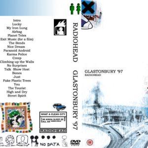 Radiohead 1997-06-28 Glastonbury, UK DVD