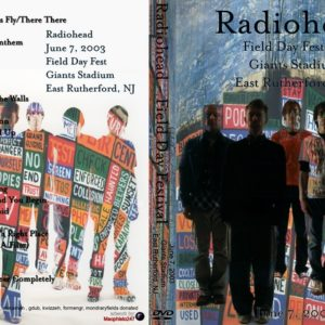 Radiohead 2003-06-07 Field Day Festival, East Rutherford, NJ 2 DVD