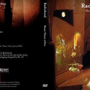 Radiohead 2003-07-03 Le Reservoir, Paris DVD