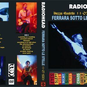 Radiohead 2003-07-11 Ferrara Sotto Le Stelle 2 DVD