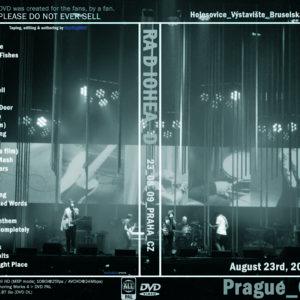Radiohead 2009-08-23 Prague, Chech Republic DVD
